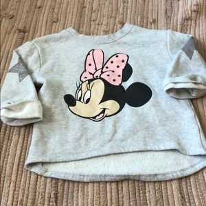 Toddler Minnie sweatshirt